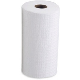 RAG ON A ROLL WHITE (70M - Perforated 24.5cm x 35cm)