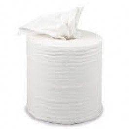 "HOSPITALITY WHITE WIPES-ON-A-ROLL (""RHINO ROLL"")"