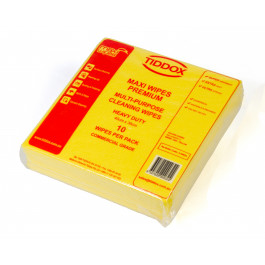 MAXI WIPES PREMIUM (10 pkts x 10) - YELLOW