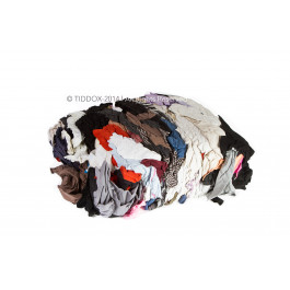 AUTOMOTIVE RECYCLED COLOURED T-SHIRT RAG