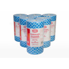 PREMIUM BLUE WIPES-ON-A-ROLL (90 pce x 4 rolls)