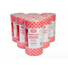 PREMIUM RED WIPES-ON-A-ROLL (90 pce x 4 rolls)
